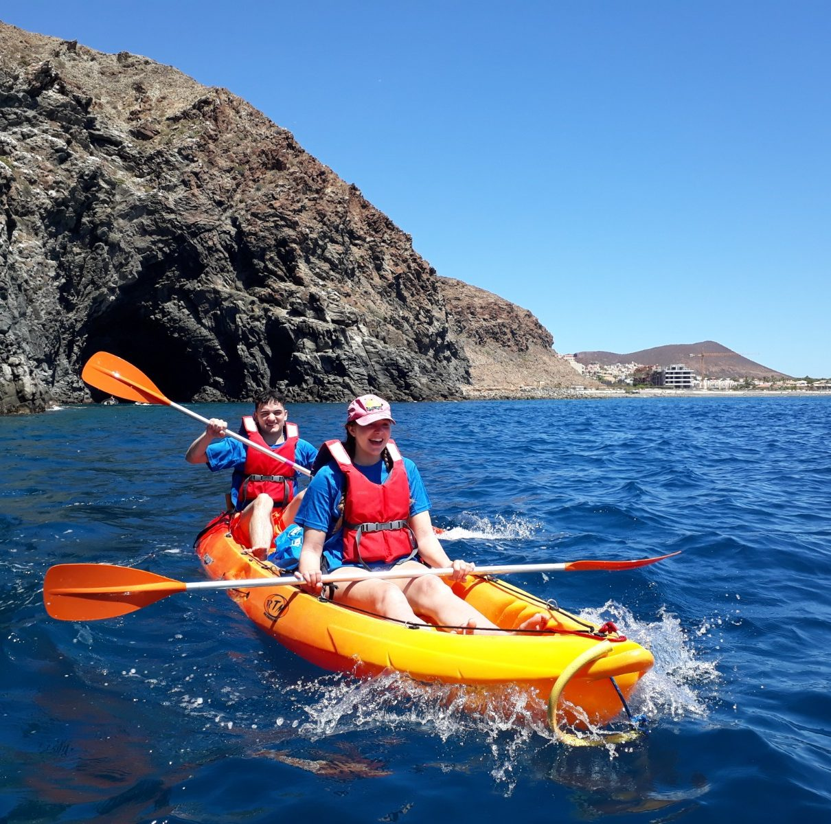 Kayak Academy Tenerife- Kayak Adventure with dolphins and